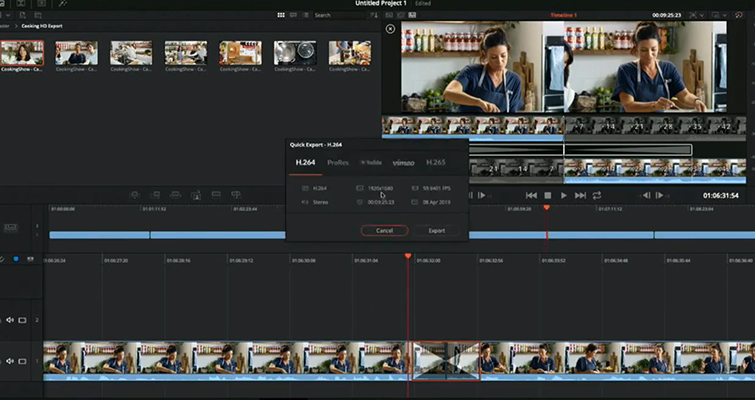 NAB 2019: DaVinci Resolve 16 — What's New and Updated — Quick Export
