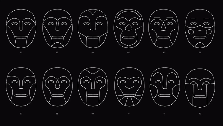 Face Mock-ups and Sketches